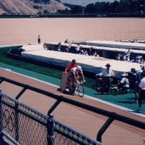 Shane Kelly's ill-fated 1000m time trial at the 1996 Atlanta Olympics